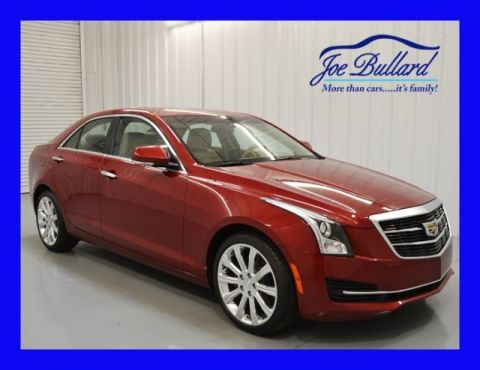 New 2016 Cadillac ATS 2.0L Turbo Luxury RWD 4D Sedan