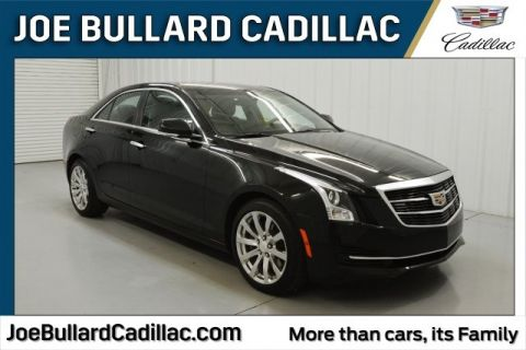 Pre-Owned 2017 Cadillac ATS 2.0L Turbo Luxury RWD 4D Sedan