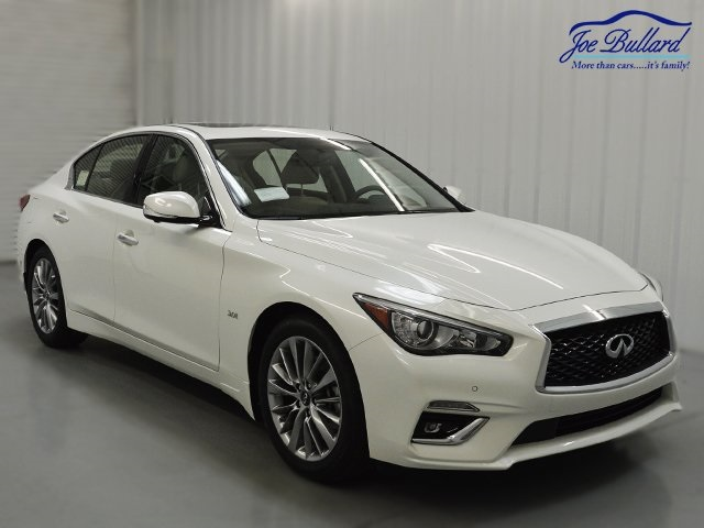certified pre owned 2018 infiniti q50 luxe 4d sedan. Black Bedroom Furniture Sets. Home Design Ideas
